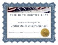 Image Student Achievement Certificate - Citizenship