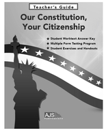 Image Our Constitution, Your Citizenship Teacher Materials