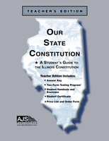 Image Our State Constitution - Illinois Edition Teacher Guide