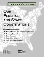 Image Our Federal and State Constitutions - Illinois Edition Teacher Guide