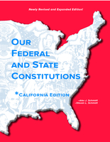 Image Our Federal and State Constitutions - California Edition