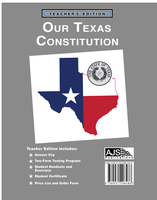 Image Our Texas Constitution - Teacher Edition