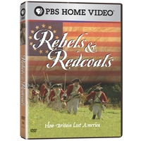 Image Rebels and Redcoats DVD